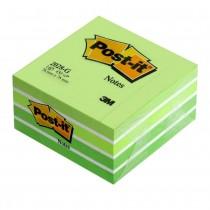 Блок post-it 76*76мм.*450 листов пастельный зелен.