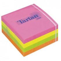 Блок post-it 76,2*76,2мм.*400 листов Tartan неон
