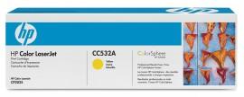 Картридж для лазерных устройств HP CLJ CP2025/CM2320 (CC532A) желт. оригинальный
