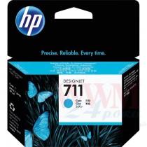 Картридж для струйных устройств HP DesignJet T120/T520, HP 711 (CZ130A), Cyan ориг.