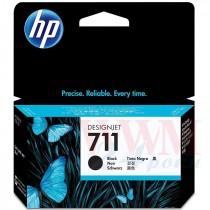 Картридж для струйных устройств HP DesignJet T120/T520, HP 711 (CZ129A), Black ориг.