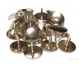 Кнопки 50шт./уп., никель