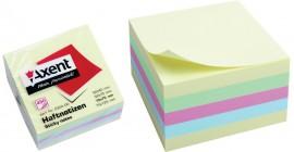 Блок бумаги с клейким слоем 75*75мм.*450 листов пастельная радуга