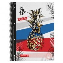 Колледж-блок А4 Premium, клетка, 80 листов, Pineapple
