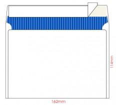 Конверт C6 114*162 отр. лента, фон, 80гр./м2. 25шт./уп., загрузка по длинной стороне