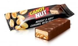 Конфеты Candy Nut нуга и мягкая карамель с арахисом 1кг.