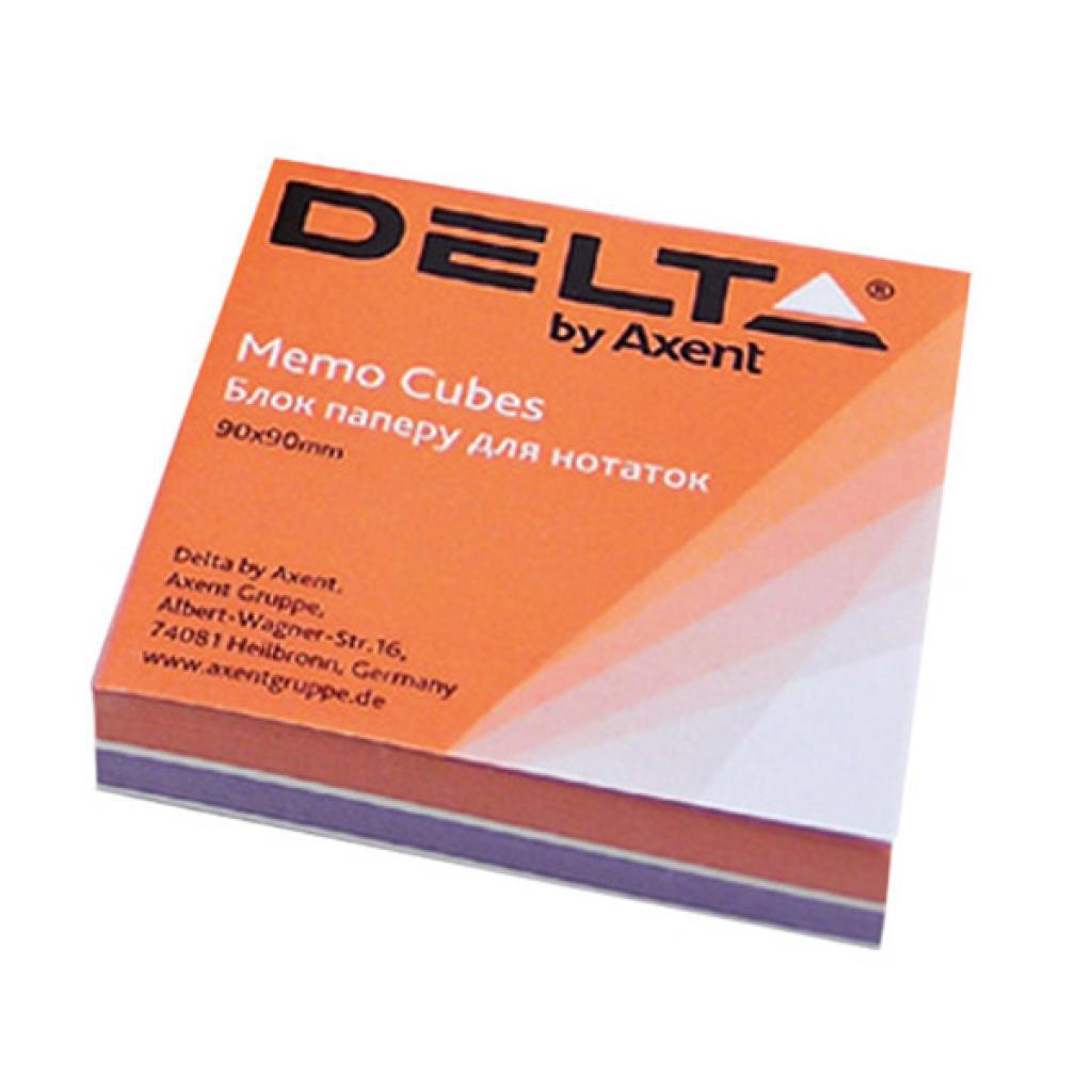 Блок для записи неклееный 80*80*20мм., Color Delta - фото 1