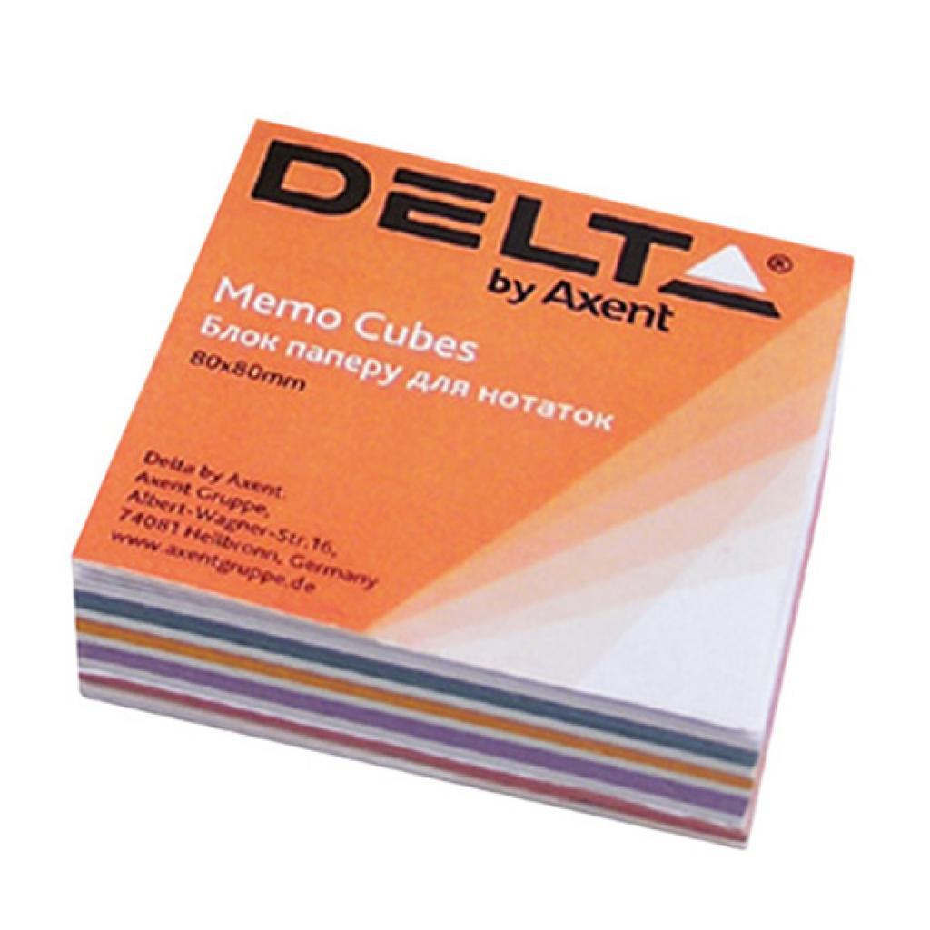 Блок для записи клееный 80*80*20мм., Міх Delta - фото 1