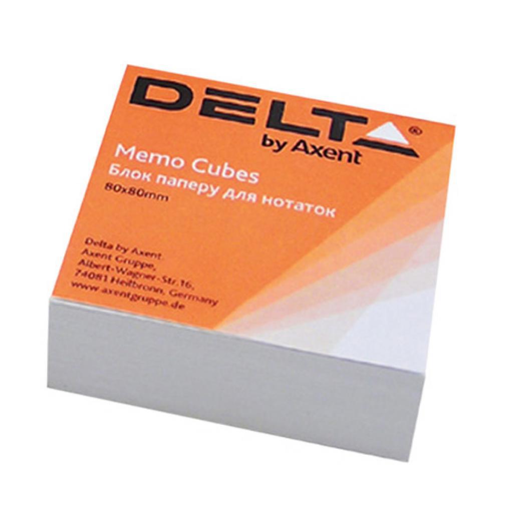 Блок для записи клееный 80*80*20мм., Белый Delta - фото 1