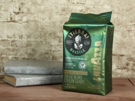 Кофе в зернах Tierra Brazil Blend Intenso Arabica 100%, 1000г., арабика