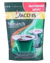 Кофе растворимый Monarch 200+50г. в пакете