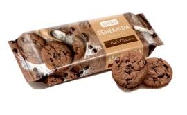 Печенье Эсмеральда с какао и кусочками глазури, 150гр.