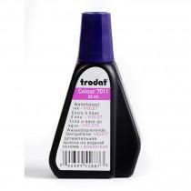 Краска штемпельная 28мл., фиолет.