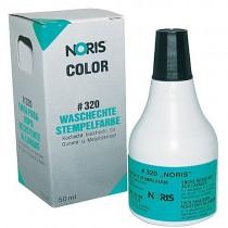 Краска штемпельная 50мл., на спиртовой основе, для хлопковых тканей и полотна, 320 CS 50 черн.