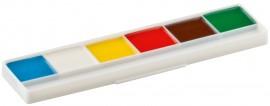 Краски акварельные 6цв., картонная упак.