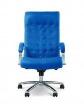 Кресло для руководителя Lord Steel Chrome LE, кожа+хром