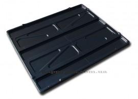 Крышка для пластикового контейнера Palox (пищевой пластик) 1200*1000мм, черн.
