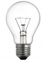 Лампа накаливания Е27 75Вт. прозрачная
