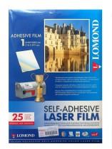 Пленка самоклеющаяся для лазерной печати A4, 25листов