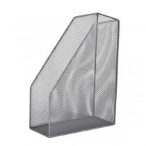 Лоток вертикальный металлический, серебр.