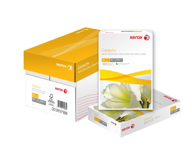 Бумага Colotech+ A4 90гр./м2., 500листов (003R98837) XEROX - фото 2