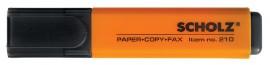 Маркер текстовый 210 1-5мм., оранж.