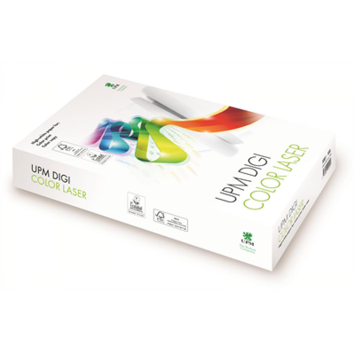 Бумага Digi Color Laser A4 160гр./м2., 250листов UPM - фото 1
