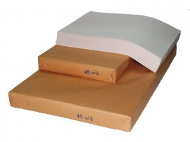 Бумага газетная 45гр./м2. А4 500 листов
