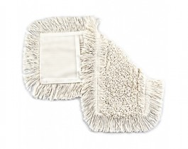 Насадка Моп плоский для швабры 40см., хлопковая с карманами