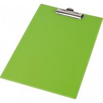 Планшет с верхним прижимом А4, PVC, зелен.