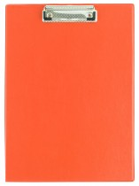 Планшет с верхним прижимом А4, PVC, красн.