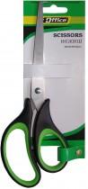 Ножницы 17см. с резиновыми вставками