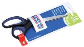 Ножницы 16см., с резиновыми вставками