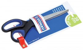 Ножницы 20см., с резиновыми вставками
