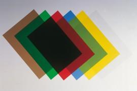 Обложки Transpar 280мк., 100шт./уп., дымч.