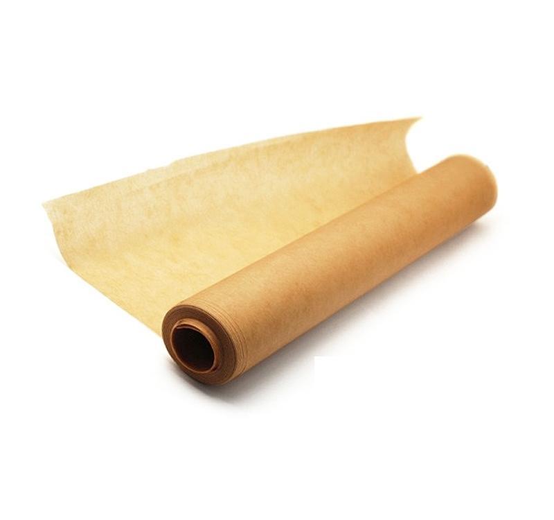 Бумага пергаментная для выпечки 42см. х 100м., коричн. Украина - фото 1