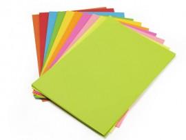 Бумага цветная Color A4 интенсив 160гр./м2. Parrot, 250листов, зелен.