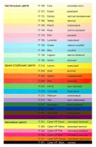 Бумага цветная Color A4 интенсив 160гр./м2. Turquoise, 250листов, син.