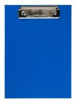 Планшет с верхним прижимом А5, PVC, син.