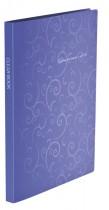 Папка на 20 файлов Barocco, фиолет.