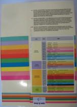 Бумага цветная Color A4 пастель 80г./м2. GN27, 500листов, зелен.