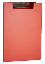 Папка-планшет А4, PVC, красн.