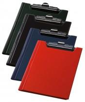 Папка-планшет А4, PVC, син.