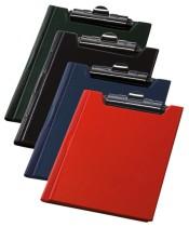Папка-планшет А5, PVC, черн.
