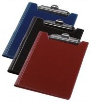 Папка-планшет А4, винил, бордо