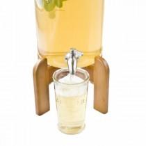Подставка для лимонадницы на 3л. Bormioli, деревянная, коричн.