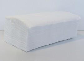 Полотенца листовые V (ZZ)-складка 2-сл., целлюлоза, 160 лист.(25*23см.), бел.