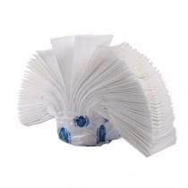 Полотенца листовые V (ZZ)-складка 2-сл., целлюлоза, 160 лист.(22,5*22,5см.), бел.