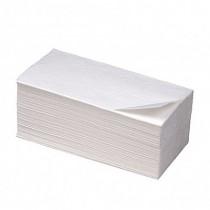 Полотенца листовые С-складка 2-сл., целлюлоза, 100 лист.(25*33см.), бел.