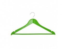 Вешалка деревянная для одежды Everyday, с перекладиной, 44,5см. х 1,2см. х 23см., зелен.